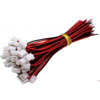 Buy cheap Custom Wire Harness Connectors JST XH 2.54mm 2 Pin Terminal Plug Extension Cable from wholesalers