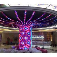 Buy cheap Slim Indoor Flexible Led Display Screen , Curved LED Screen Soft Modules from wholesalers