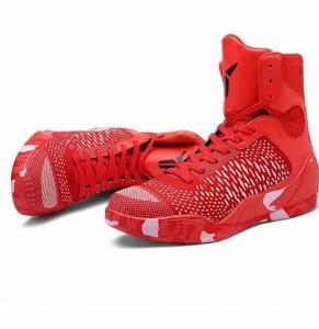 China Good quality custom made fashion high ankle basketball shoes on sale