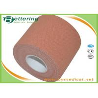 Synthetic Cotton EAB Elastic Adhesive Bandage Roll 50mm Heavy Weight Stretch for sale