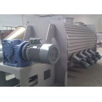 Best High Speed Powder Ploughshear Mixer , Jacketed Ribbon Blender With Hot Water Injection wholesale