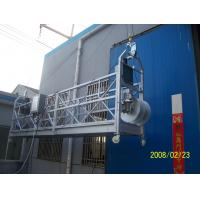 Best 7 - 8m / min Personalized Construction Steel Rope Suspended Window Cleaning Platform wholesale
