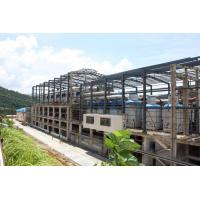 Cheap High Tensile Steel Building Workshop Anti Corrosion Coated Surface Flexibility for sale