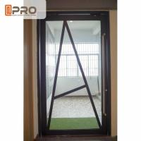 Best Floor Spring Aluminum Pivot Doors For Interior House Customized Size wholesale