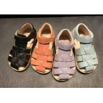 China Cow Leather Kids Sandals Shoes for sale