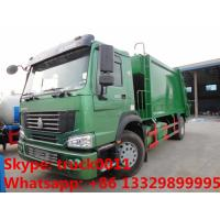 Quality SINO TRUK HOWO LHD/RHD garbage compactor truck for sales, Best price12cbm compacted garbage truck for sale wholesale