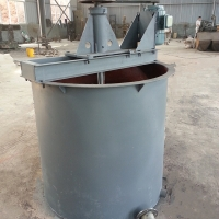 Gold Leaching Cell Double Impeller Agitation Carbon Leaching Tank for sale