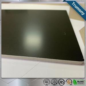 Best Matt Black High Grade Aluminum Mirror Sheet Composite Panel For Decoration Billboard wholesale