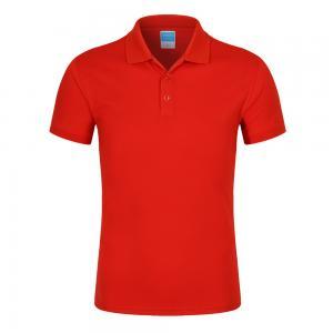 Best OEM Embroidered ISO XXL Plain Cotton Polo Shirt Unisex Anti Pilling wholesale