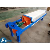 Best PP Material Plate Chamber Filter Press 15m2 Filtration Area 450 * 450mm wholesale