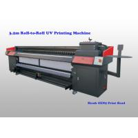 Buy cheap Flatbed Uv Roll To Roll Printer For Flexible Substrates With Ricoh Gen5 Print from wholesalers