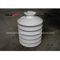 Quality HIVOLT 36kV White Porcelain Insulators , High Voltage Porcelain Insulators wholesale