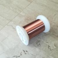 Best Dia 0.012 - 0.80mm Ultra Fine Copper Wire High Frequency With Good Solderability wholesale