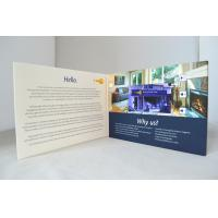 1024×800P Video LCD Gift Card Support AVI / AVM / WMV / MP4 / 3GP Video File for sale