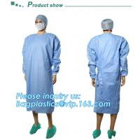 Sterile Disposable Surgical Gown,Long sleeves disposable hospital isolation gowns,Manufacturer Supplier surgical gown ma for sale