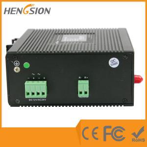 Quality 7 Megabit TX + 1 megabit FX Industrial Managed Ethernet Switch , web smart fastest network switch wholesale