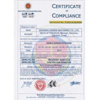 Qingdao Leader Machinery Co., Ltd Certifications