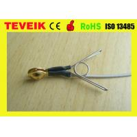 Best DIN1.5 socket EEG cup cable, Ear-clip electrode eeg cable Gold plated copper, length 1m wholesale