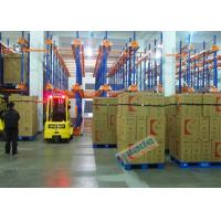 Best Warehouse Automated Radio Shuttle Racking Cold Supply Chain Pallet Shuttle System wholesale