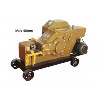 Best 40 MM Rebar Thread Rolling Machine For Splicing / Special Cutter wholesale