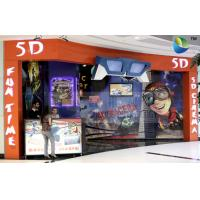Best Special Design 5D Theater System With Cabin And Motion Theater Chair wholesale
