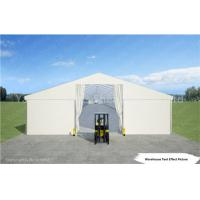 Quality White Industrial Marquee Outdoor Warehouse Tents , Temporary Warehouse Structures wholesale
