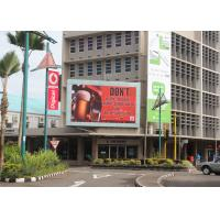 Quality DIP570 Outdoor Full Color LED Display IP65 10000dots / sqm LED Advertising Screen wholesale