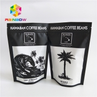 China Zipper Laminated Plastic Custom Printed Foil Bags Standing For Coffee Tea on sale