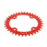 Best Red Anodized Bike Sprocket / Freewheel CNC Machining Parts for Road Bicycle wholesale