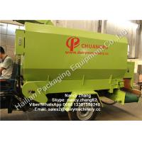 Buy cheap Mobile Silage Spreader Machine TMR Feed Mixer For Dairy Cows , Diesel Engine from wholesalers