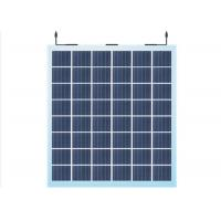 Buy cheap Transparent Amorphous Glass BIPV Solar Power Panels For Solar Mounting System from wholesalers