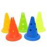Round Bottom Soccer Training Equipment 30cm 50cm Sports Training Cones for sale