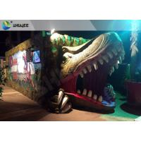 Best Electric Dynamic 7D Cinema System Dinosaur House In Entertainment Places wholesale