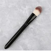 Buy cheap Single Liquid Foundation Brush Black Handle Color OEM / ODM Accepted from wholesalers