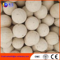 Quality Chemical Stability Refractory Alumina Ceramic Ball For Hydro Converter wholesale