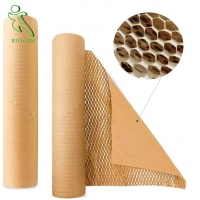 China Honeycomb Protection Pad Packaging Paper, Recyclable Brown Honeycomb Kraft Paper for sale