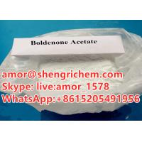 China best price buy steroid powder Boldenone Acetate online white color CAS 2363-59-9 on sale