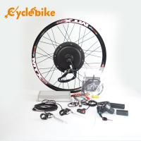 Best 72v 3000w Electric Bicycle 700c Hub Motor Wheel Kit With Sine Wave Controller wholesale