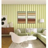Buy cheap 70cm width fireproof waterproof mould proof stripe styles PVC vinyl wallpaper from wholesalers