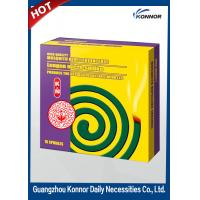 Best Hotel Smokeless Mosquito Coil , Plant Fiber Mosquito Repellent Coil wholesale