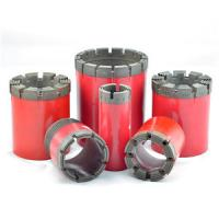 Buy cheap Easy Operation Diamond Core Drilling Bits For Hard Rock Formation from wholesalers