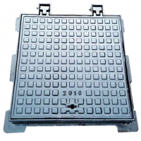 China Square manhole cover,600x600  EN124D400, heavy cover, drainage cover driveway manhole cover for sale