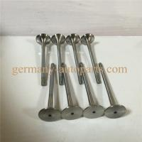 Buy cheap Chrome Silicon Steel Engine Timing Control Intake Exhaust Valve Set For VW Audi from wholesalers