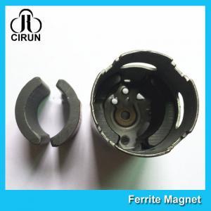 Best C5 Grade Permanent Ferrite DC Motor Magnet High Performance R13.15*R8.8*H21mm wholesale