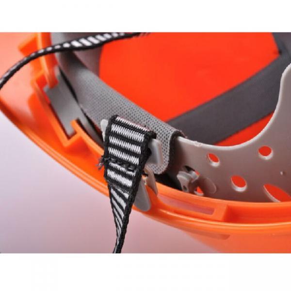 Mining Equipment V-Shape Miner's Safety Helmet Protective PPE Plastic Hard Hat