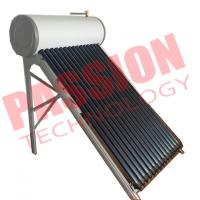 Cheap Anti Freezing Heat Pipe Solar Water Heater With Intelligent Controller for sale