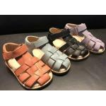 China Unisex Real Leather Baby Moccasins for sale