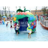 Quality Large Fiberglass and PVC Spray Park Equipment For 3 ~ 5 persons wholesale