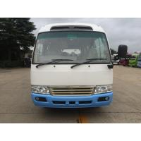 Best Environmental Low Fuel Coaster Minibus New Luxury Tour Shuttle Bus With Gasoline Engine wholesale
