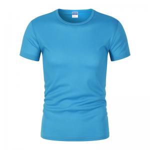 Best Custom Printed Sport Shirts Quick Drying T Shirt Printing Logo wholesale